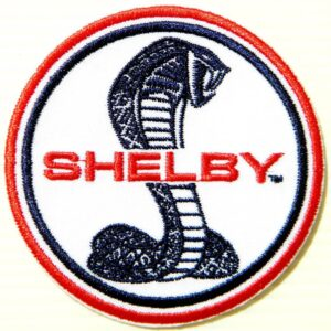 Vintage Shelby Cobra Logo Patch
