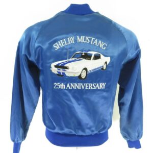 Vintage Shelby Cobra Mustang 25th Anniversary Jacket