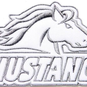 Vintage Style Mustang Car Racing Patch