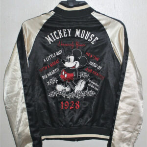 Vintage Sukajan Mickey Mouse Souvenir Reversible Jacket