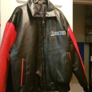 Vintage Walt Disney Mickey Goofy Donald Leather JacketVintage Walt Disney Mickey Goofy Donald Leather Jacket