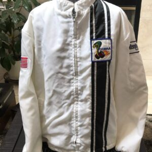 White Vintage Hemborg Ford Cobra Shelby Jacket