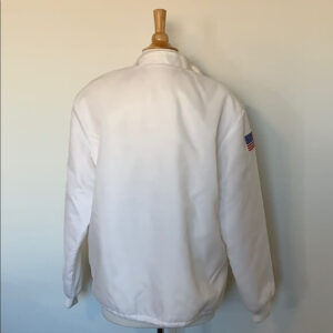 White Vintage Hemborg Ford Cobra Shelby Jacket White Vintage Hemborg Ford Cobra Shelby Jacket