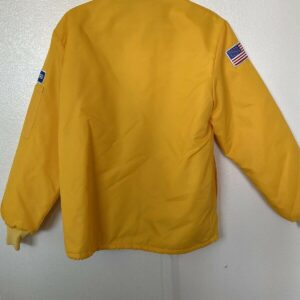 Yellow Vintage Ford Mustang Cobra Shelby Jacket