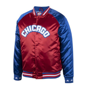 1988 NBA All Star Game Scarlet Satin Jacket