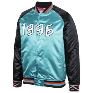 1996 NBA All Star Game Teal Satin Jacket