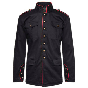 Black Drummer Boy Military Jacket