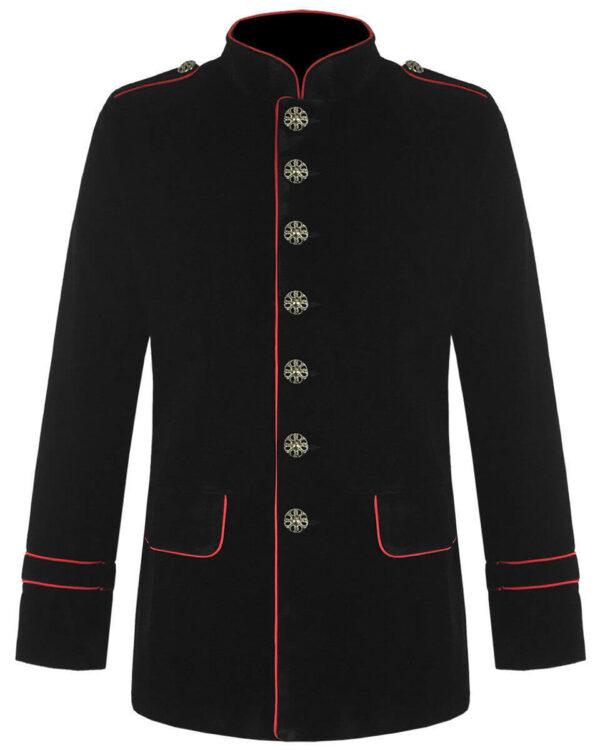 Black Gothic Steampunk Goth Jacket