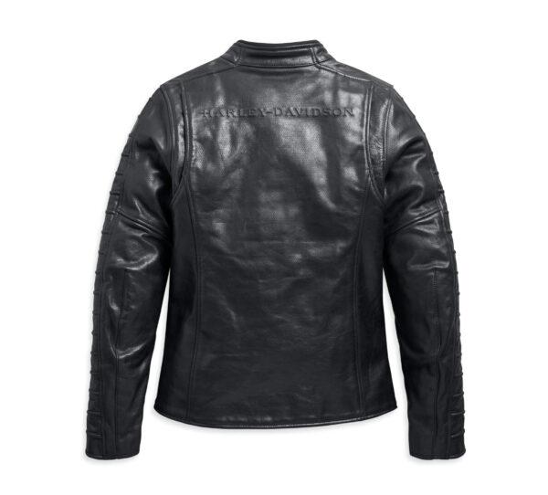 Black Harley Davidson Leather Jacket