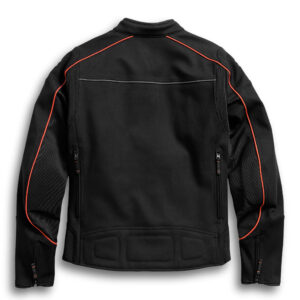 Black Harley Davidson Stretch Riding Jacket