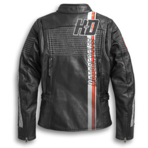 Black Motorcycle Harley Davidson Leather Jacket