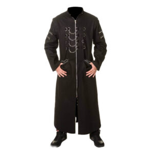 Brown Hellraiser Gothic Long Coat