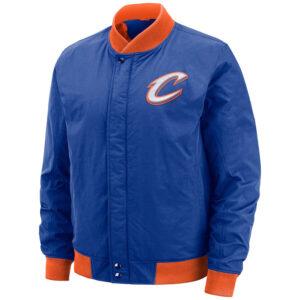 Cleveland Cavaliers Blue Bomber Jacket