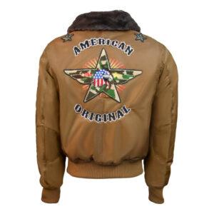 Coyote Top Gun American Bomber Jacket