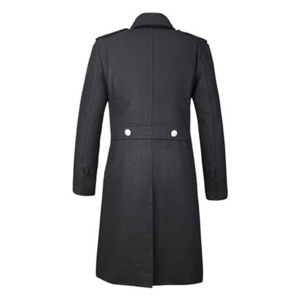 Gothic Overcoat Military Double Breasted Trench Coat