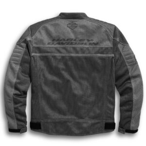 Grey Harley Davidson Affinity Mesh Riding Jacket