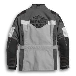 Grey Harley Davidson Waterproof Riding Jacket