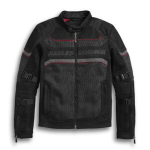 Harley Davidson Black Mesh Riding Jacket
