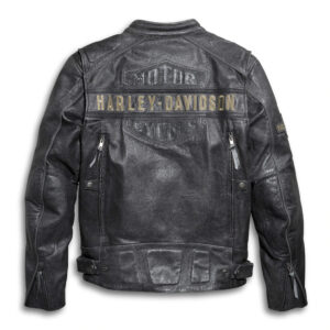 Harley Davidson Black Motorcycle Jacket