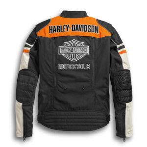 Harley Davidson Color Block Riding Jacket