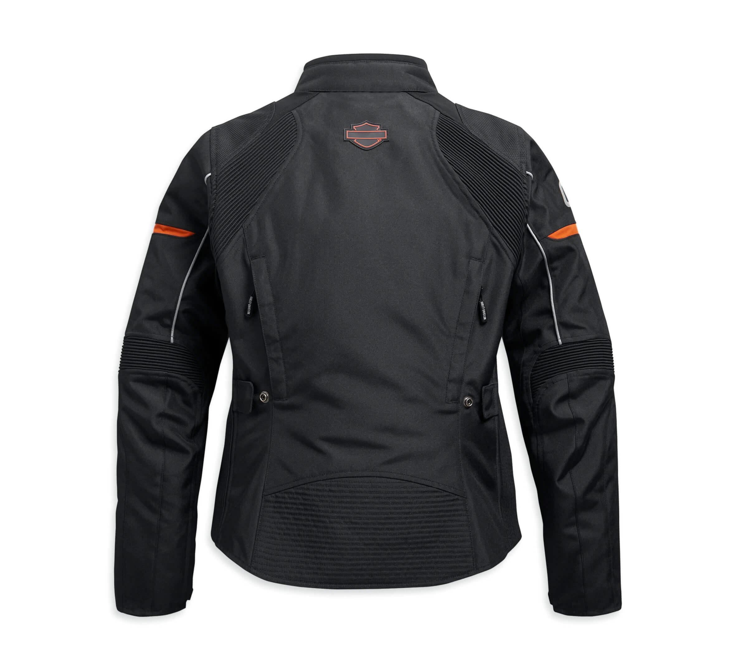 Harley Davidson Killian Riding Motorcycle Leather Jacket
