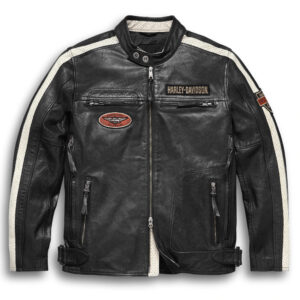 Harley Davidson Motorcycle Command Leather Jacket