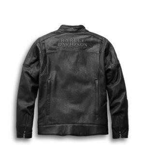 Harley Davidson Motorcycle Leather Black Jacket