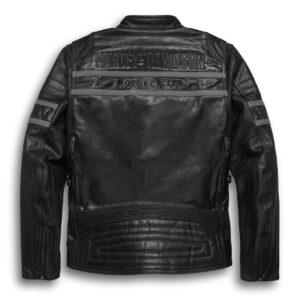 Harley Davidson Riding Black Leather Jacket
