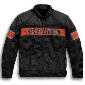Harley Davidson Riding Black Mesh Jacket