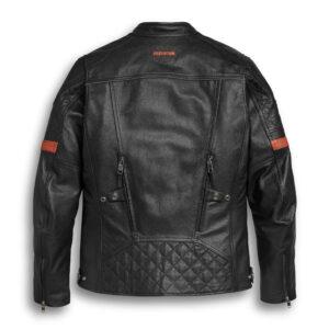 Harley Davidson Riding Leather Black Jacket