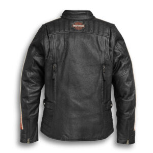 Motorcycle Black Harley Davidson Leather Jacket