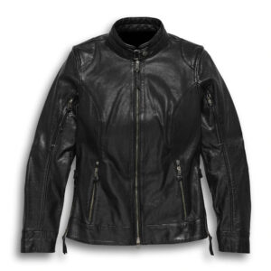 Motorcycle Harley Davidson Black Leather Jacket