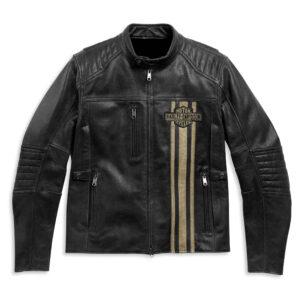 Motorcycle Harley Davidson Leather Jacket in Black