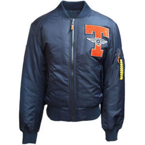 Navy Top Gun Tomcat Bomber Jacket