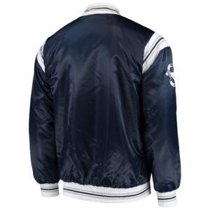 Penn State Nittany Lions Navy Satin Jacket
