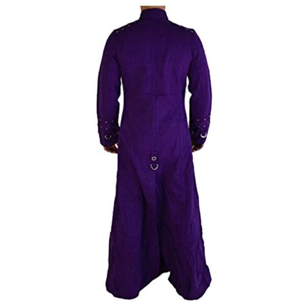 Purple Hellraiser Gothic Long Coat