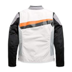White Harley Davidson Textile Riding Jacket