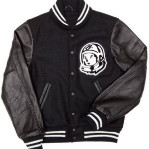 Billionaire Boys Club Black Astro Patch Varsity Jacket