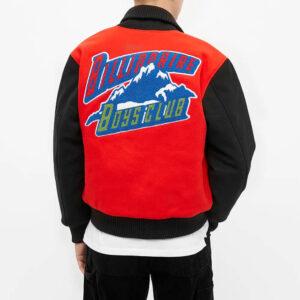 Billionaire Boys Club Mountain Logo Varsity Jacket