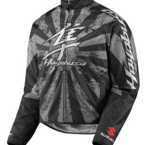 Black Suzuki Hayabusa Motorcycle Textile Jacket