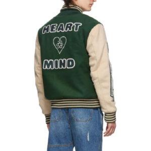 Green Astro Billionaire Boys Club Varsity Jacket