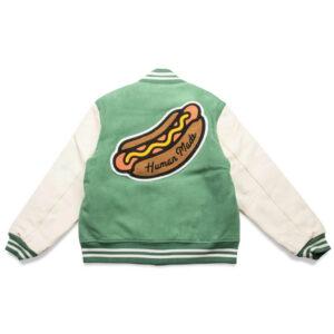 Human Made Green Varsity Jacket