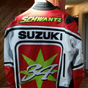 Kevin Schwantz Joe Rocket Suzuki Motorcycle Jacket