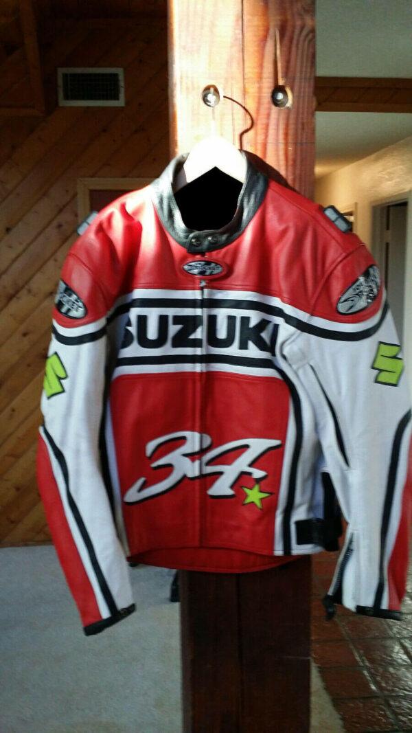 Kevin Schwantz Joe Rocket Suzuki Motorcycle Jacket