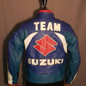 Miline Team Suzuki Playstation Dunlop Motorcycle Jacket
