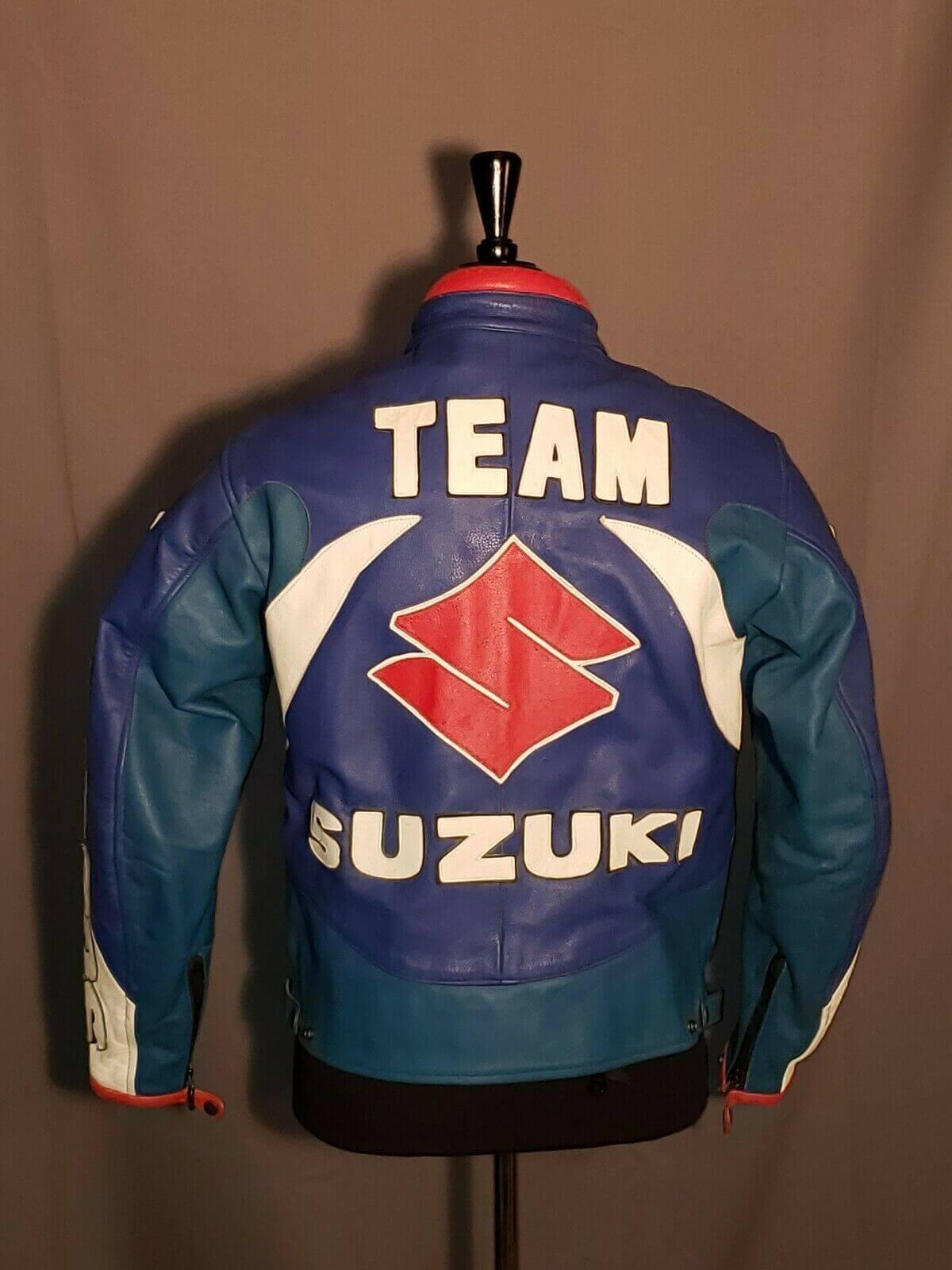 Miline Team Suzuki Playstation Dunlop Motorcycle Jacket