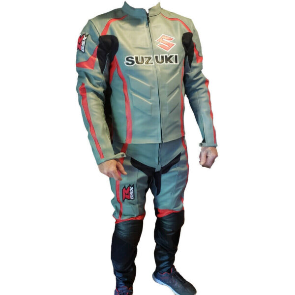 Suzuki CE Protected Armour Motorcycle Racing Suit