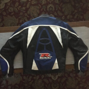 Suzuki GSXR Elite Motorcycle Leather Jacket