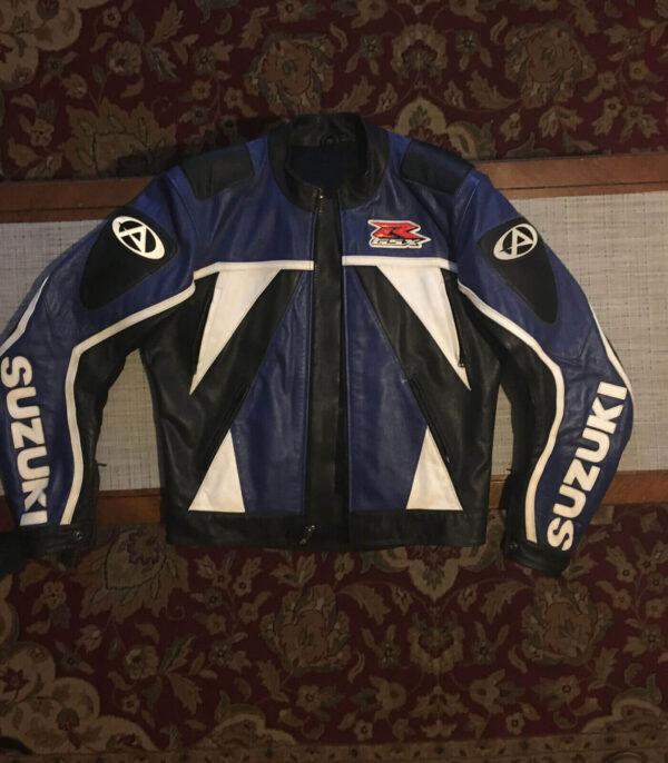 Suzuki GSXR Elite Motorcycle Leather Jacket