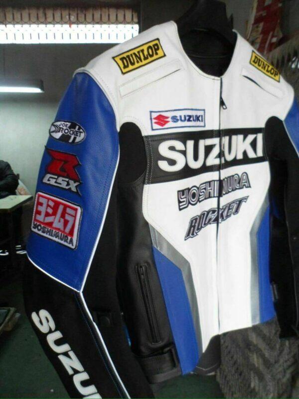 Suzuki GSXR Yoshimura Motorcycle Racing Jacket